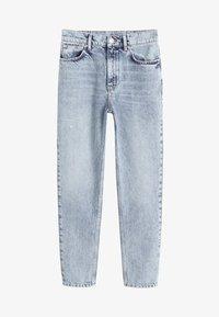 Mango - MOM - Straight leg jeans - blue - 4