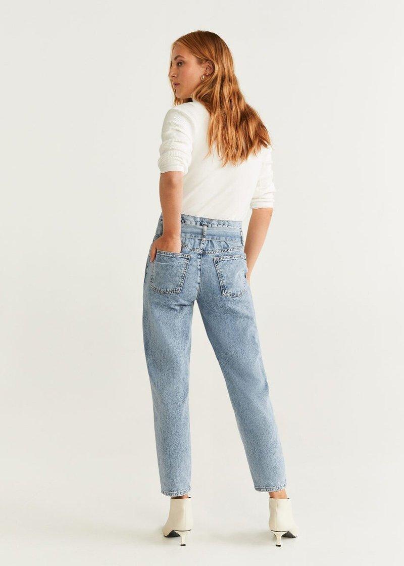 Mango - ACID - Jeans Straight Leg - blue