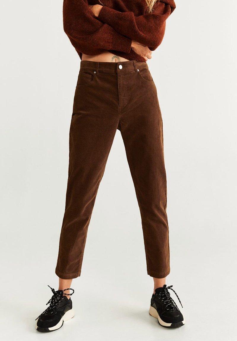 Mango - NEWMOM - Straight leg jeans - brown