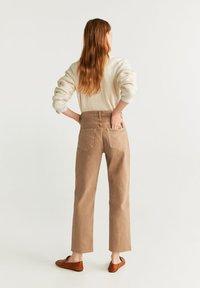 Mango - MARIONA - Straight leg jeans - sand - 2