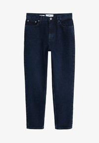 Mango - MOM - Jeansy Straight Leg - dark blue - 3