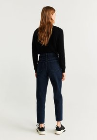 Mango - MOM - Jeansy Straight Leg - dark blue - 2
