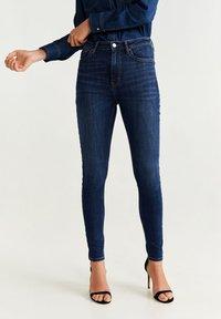 Mango - SOHO - Jeans Skinny Fit - dark blue - 0