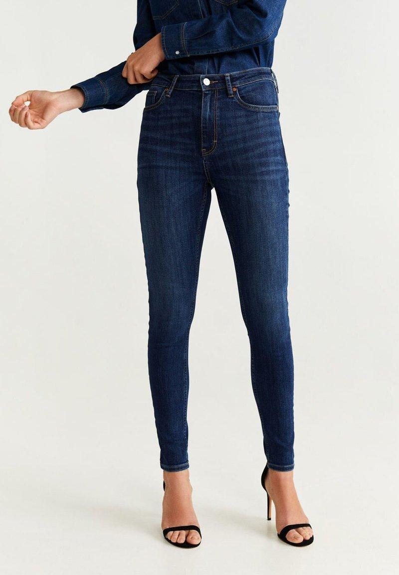 Mango - SOHO - Jeans Skinny Fit - dark blue