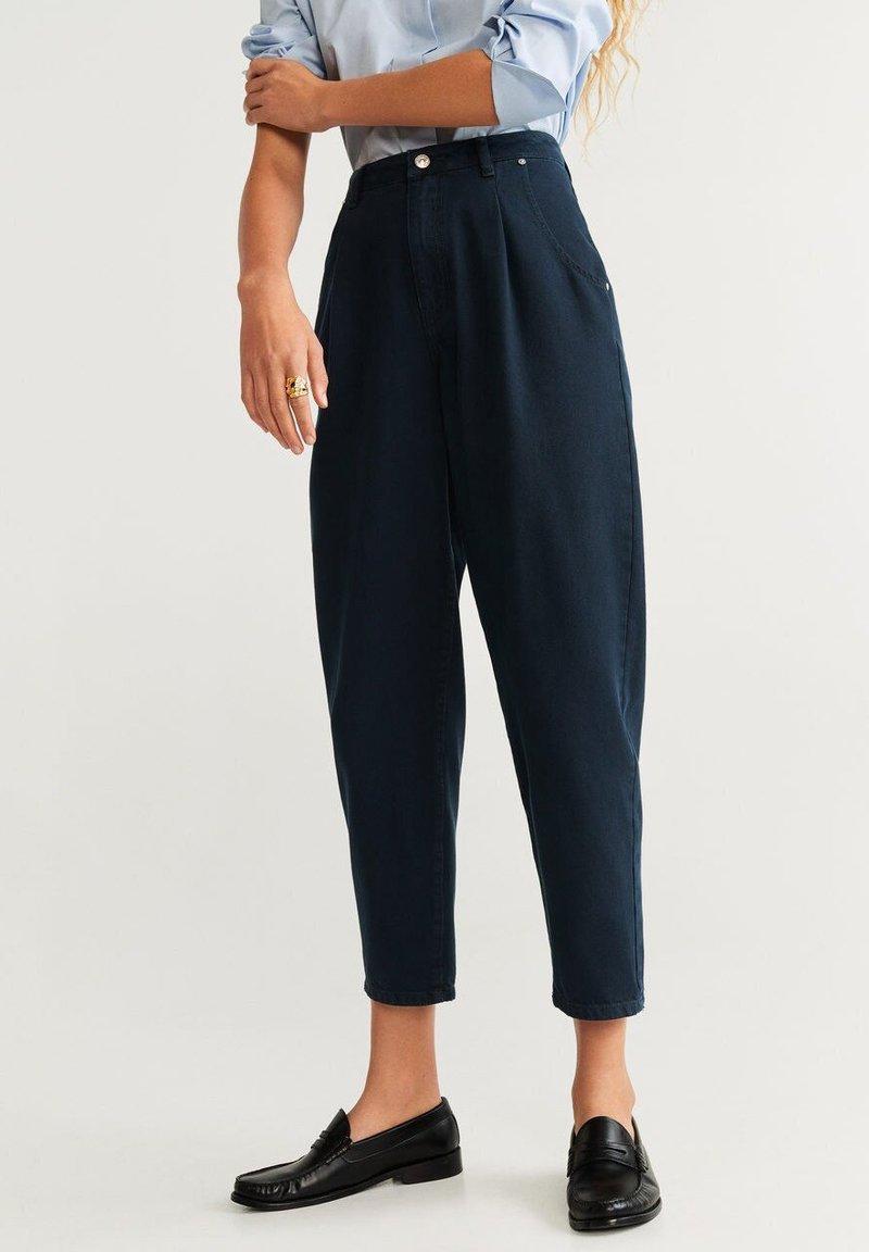 Mango - REGINA - Straight leg jeans - royal blue