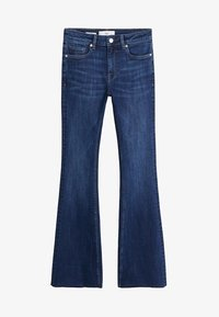 Mango - FLARE - Flared Jeans - dark blue - 3