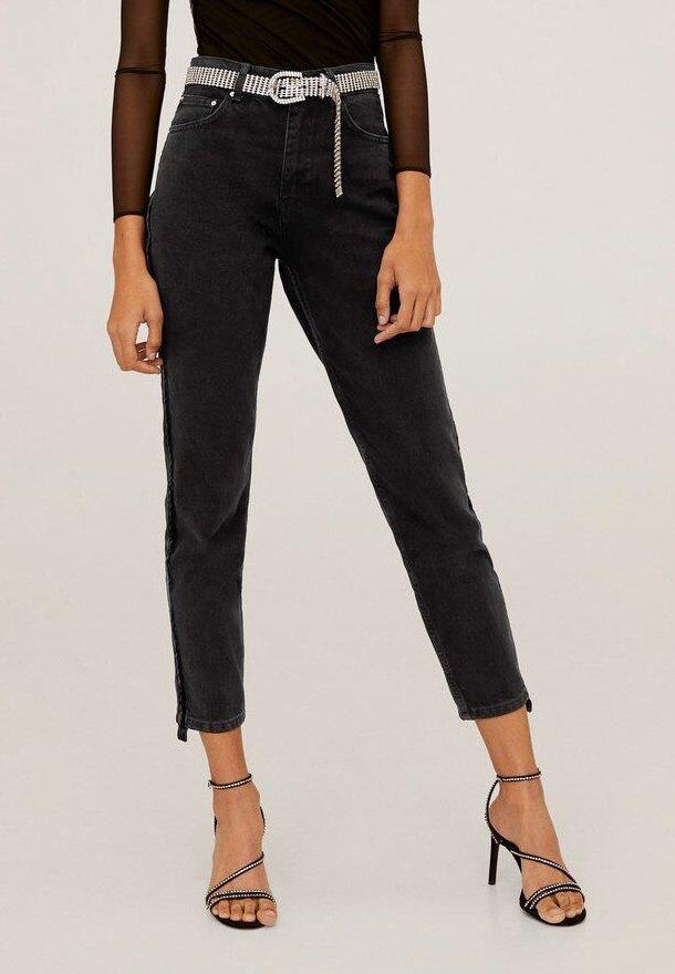 VELVET - Slim fit -farkut - black