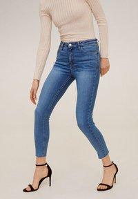 Mango - ISA - Jeans Skinny Fit - mid blue - 0