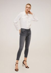 Mango - ISA - Jeans Skinny - open grey - 1