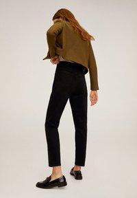 Mango - MOM - Jeans slim fit - black denim - 2