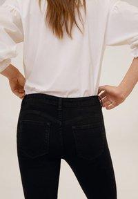 Mango - KIM - Jeans Skinny - black - 4