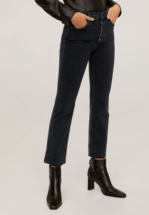 BOOTCUT - Bootcut jeans - black denim