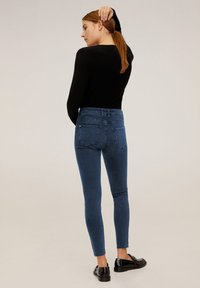 Mango - ISA - Jeans Skinny Fit - deep dark blue - 2