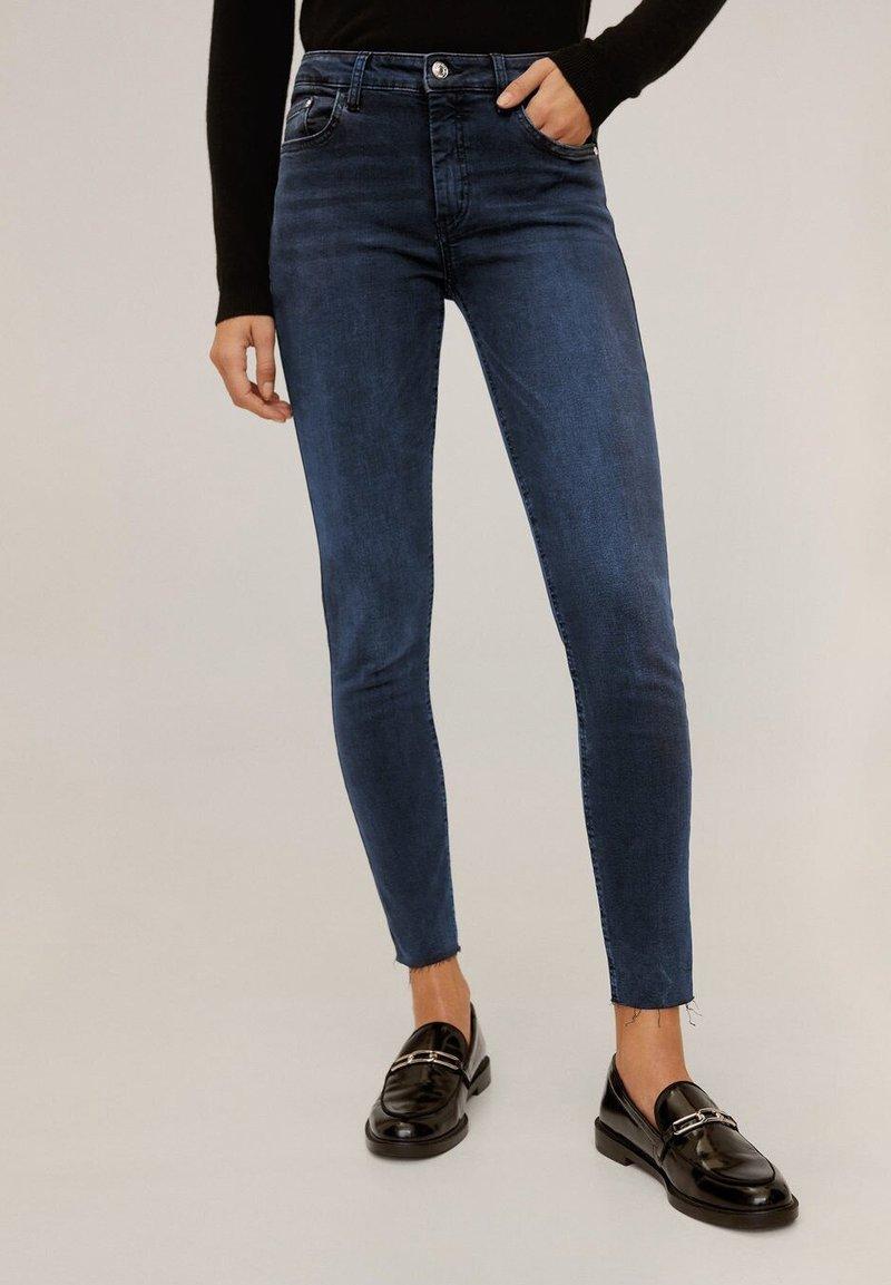 Mango - ISA - Jeans Skinny Fit - deep dark blue