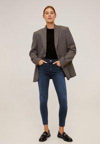 Mango - ISA - Jeans Skinny Fit - deep dark blue - 1