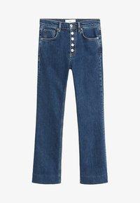 Mango - BOOTCUT - Flared jeans - dark blue - 3