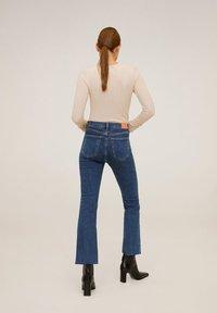 Mango - BOOTCUT - Flared jeans - dark blue - 2