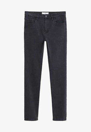 STUDS - Jeans Skinny Fit - black denim