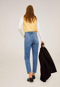 Mango - NEWMOM - Straight leg -farkut - medium blue - 2