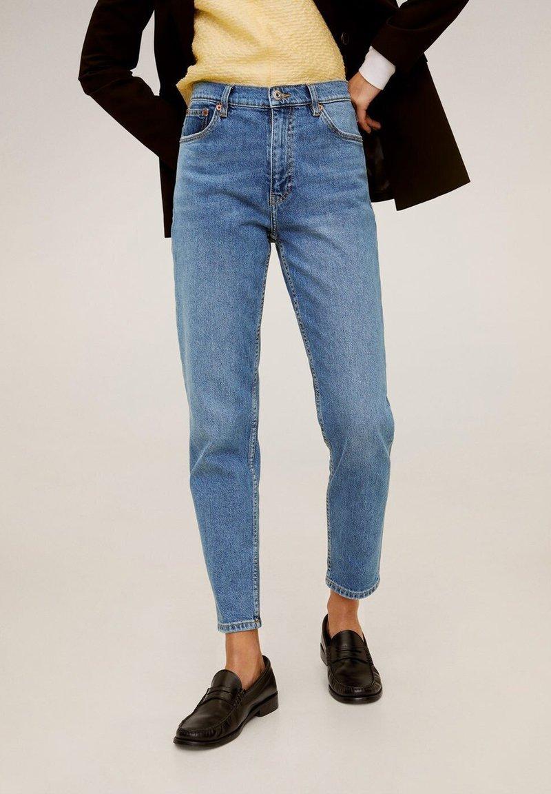 Mango - NEWMOM - Straight leg -farkut - medium blue