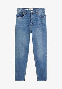 Mango - NEWMOM - Straight leg -farkut - medium blue - 3