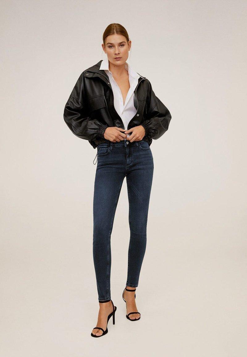 Mango - KIM - Jeans Skinny Fit - dark blue