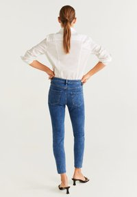Mango - SCULPT - Jean slim - mediumblue - 2