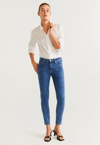 Mango - SCULPT - Jean slim - mediumblue - 1