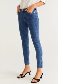 Mango - SCULPT - Jean slim - mediumblue - 0