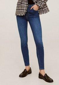Mango - NOA - Jeans Skinny Fit - dark blue - 0