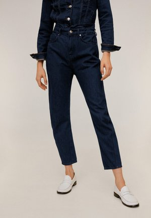 SLOUCHY - Jeans a sigaretta - intensives dark blue