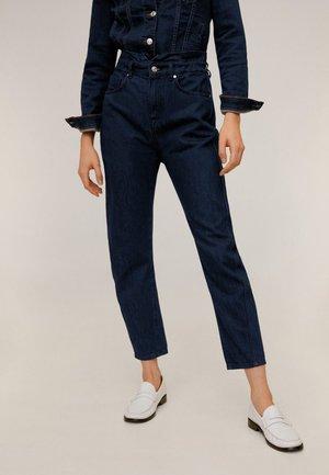 SLOUCHY - Straight leg jeans - intensives dark blue