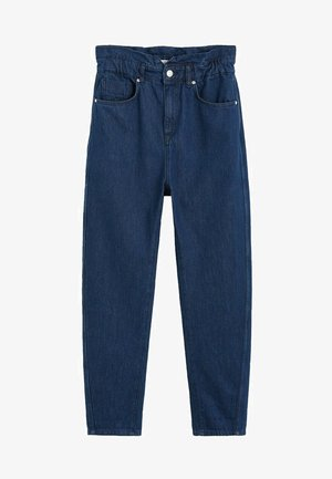 SLOUCHY - Straight leg jeans - intensives dark blue