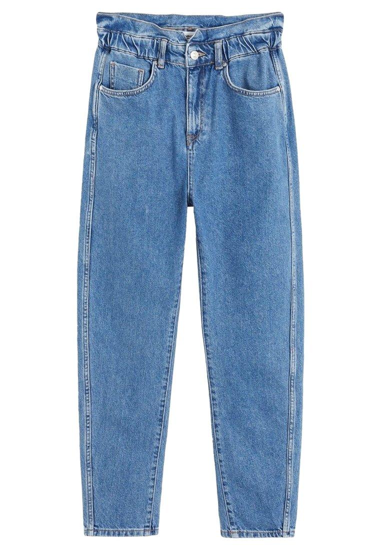 Mango Slouchy - Jeans A Sigaretta Blue oGC1Kwj