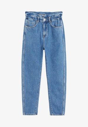 SLOUCHY - Straight leg jeans - blue