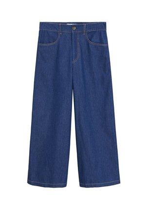 UNDER-H - Jeans a zampa - mittelblau