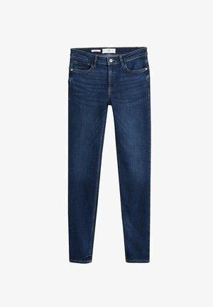 JEAN SKINNY PUSH-UP KIM - Jeans Skinny Fit - bleu foncé