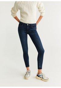 Mango - KIM - Jeans Skinny Fit - bleu foncé - 0