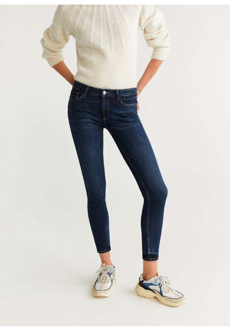 Mango - KIM - Jeans Skinny Fit - bleu foncé