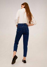 Mango - MOM - Slim fit jeans - dunkelblau - 2