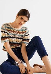 Mango - MOM - Slim fit jeans - dunkelblau - 5