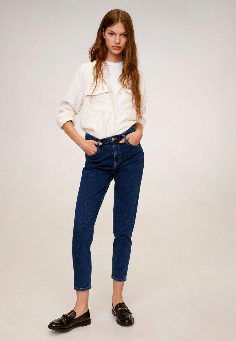 Mango - MOM - Slim fit jeans - dunkelblau