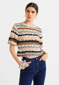 Mango - MOM - Slim fit jeans - dunkelblau - 4