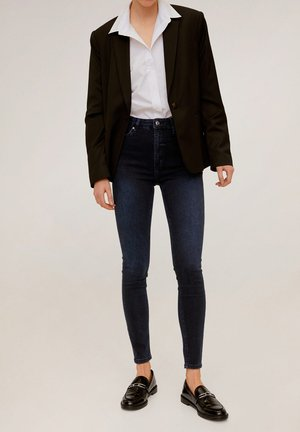 NOA - Jeans Skinny Fit - diep donkerblauw