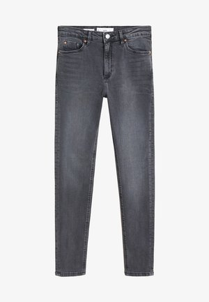 NOA HIGH-WAIST SKINNY JEANS - Jeans Skinny - open grijs