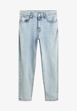 MOM - Jeansy Slim Fit - bleach blauw