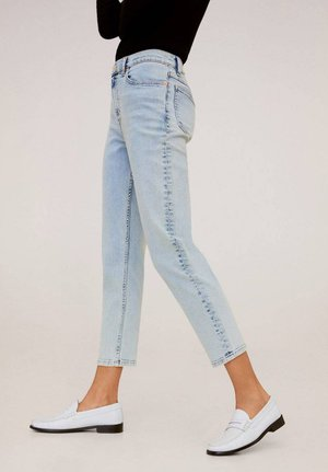 MOM - Slim fit jeans - bleach blauw
