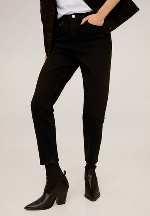 MOM-FIT JEANS - Jeans slim fit - black denim