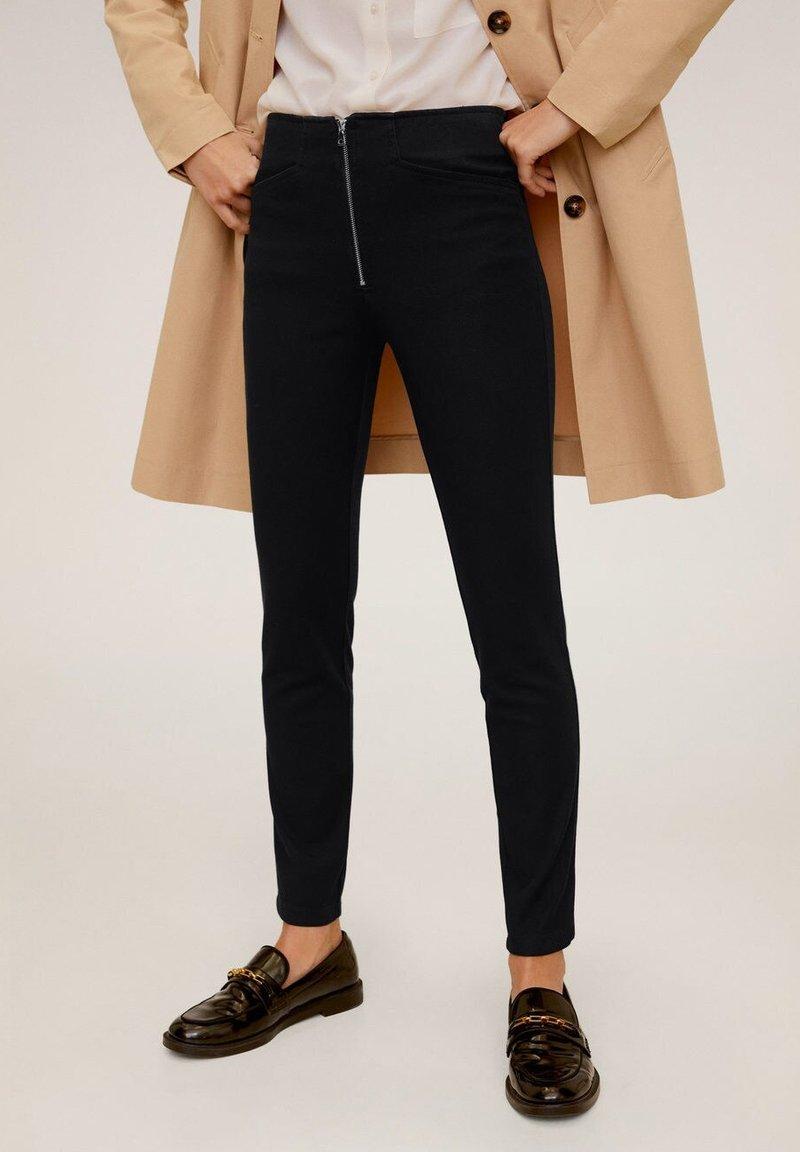 Mango - LUCIA - Trousers - zwart