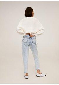 Mango - MOM - Jeansy Straight Leg - bleach-blau - 2